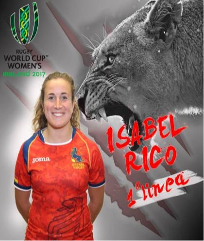 La talaverana Isabel Rico disputará el Campeonato del Mundo de Rugby