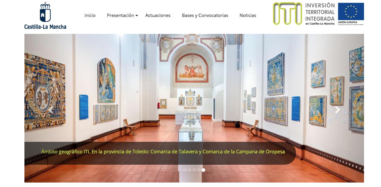 La Junta pone en marcha una web con información sobre la ITI que afecta a Talavera y su comarca