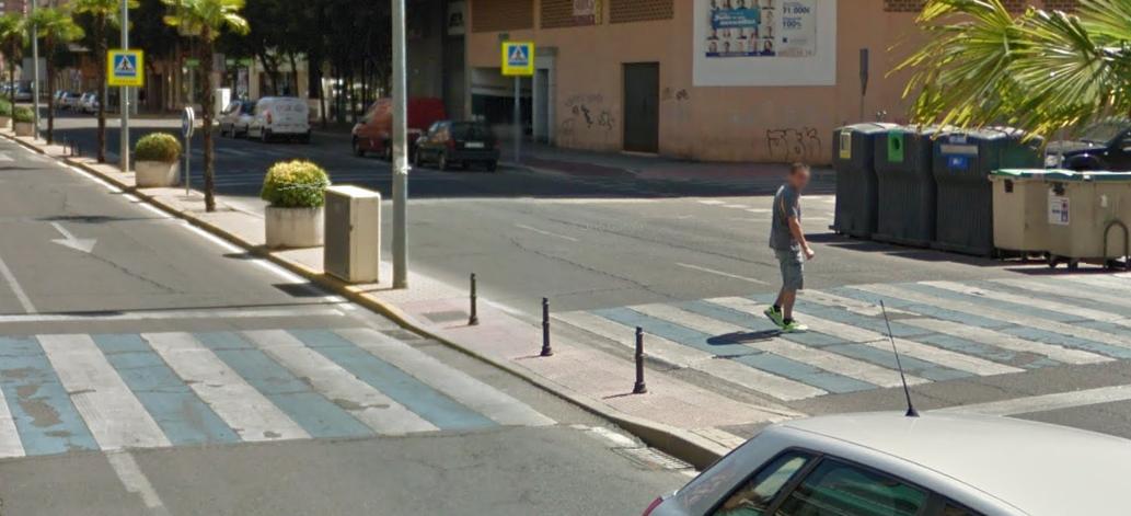 Atropellados dos menores en Talavera cuando cruzaban un paso de peatones en bici