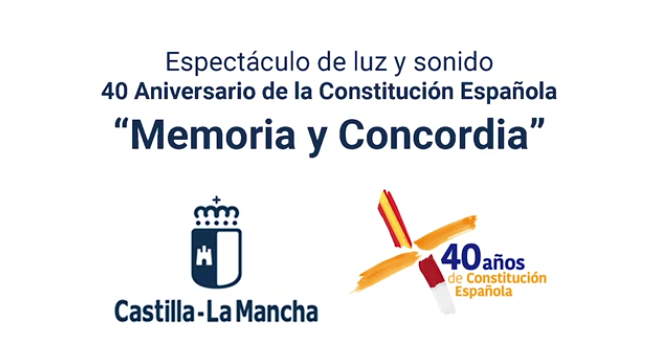 El espectáculo de luz y sonido sobre la Constitución se verá en Talavera el 26 y 27 de octubre