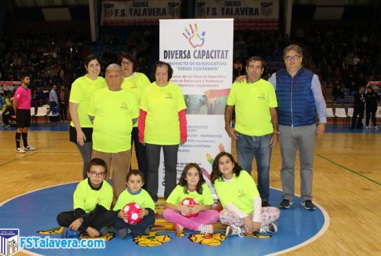 Diversa Capacitat fue la asociación invitada en la iniciativa 'el Jugador Número Seis'