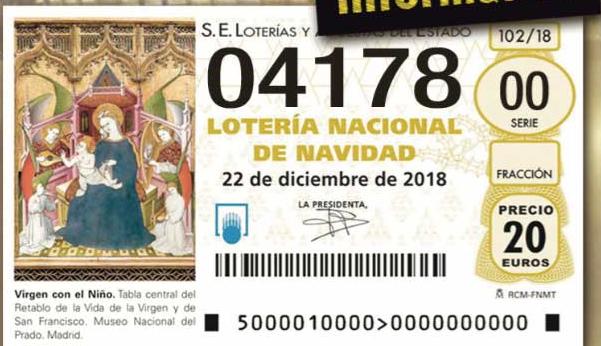 El Sorteo de Lotería de Navidad 2018 repartirá 2.380 millones de euros
