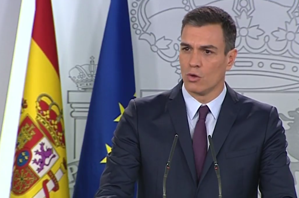 Sánchez anuncia las elecciones generales para el 28 de abril