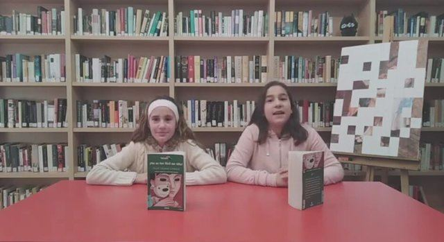 'Booktubers' en el Club de Lectura Infantil de la Biblioteca de Lucillos para fomentar la lectura
