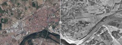 Talavera en 2015 y 1956