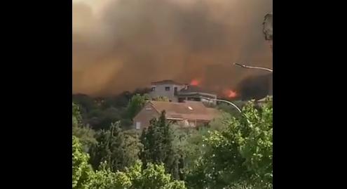 Incendio de Toledo, 23 desalojados de la residencia El Alba, el Hogar 2000 y la protectora de animales
