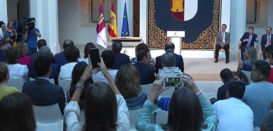 DIRECTO | Toma de posesión de los integrantes del nuevo Consejo de Gobierno CLM