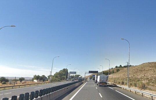 Kilómetro 43 de la autovía A-4 / Google Maps