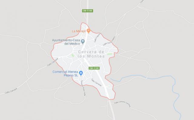 Cervera de los Montes / Google Maps