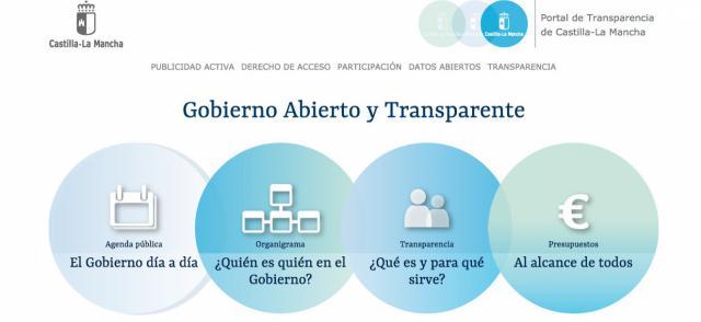 El Portal de Compromisos de CLM incluye más de 1.000 nuevas medidas de transparencia