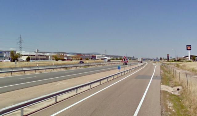 Habilitado un carril adicional en la A-5 en sentido Madrid