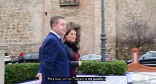 VÍDEO | Page: 'Estamos empeñados en pintar a Talavera en positivo'