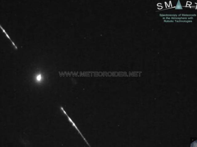 VÍDEO | Una roca de un asteroide impacta contra la atmósfera y genera una gran bola de fuego