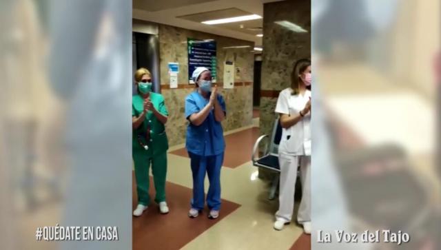 VÍDEO | Nuevas altas hospitalarias por coronavirus en Talavera... ¡Juntos se puede!
