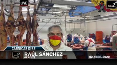 VÍDEO | Cárnicas Dibe, solidaria con el Hospital de Talavera y trabajando para abastecer a la sociedad