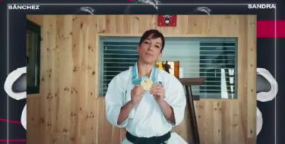 NUESTRA GENTE | Sandra Sánchez dona una medalla de oro contra el coronavirus