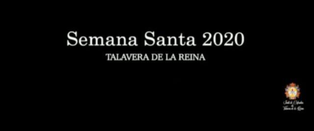 VÍDEO | Semana Santa 2020, Talavera de la Reina: 'Las Ventanas del Alma'