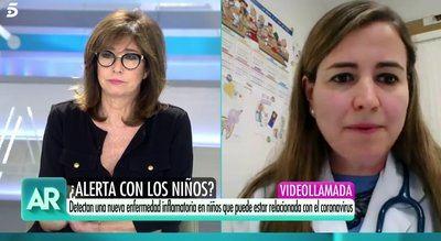 COVID-19 | Una pediatra de Talavera explica en 'AR' cómo actuar ante una nueva patología relacionada con el coronavirus en niños