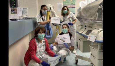 VÍDEO   El mensaje del personal de Neonatos del Hospital de Talavera