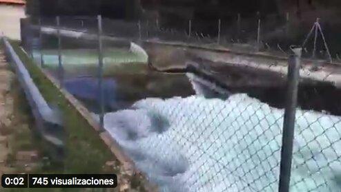 VÍDEO | Así se 'saquea' el Tajo: 15.000 litros por segundo