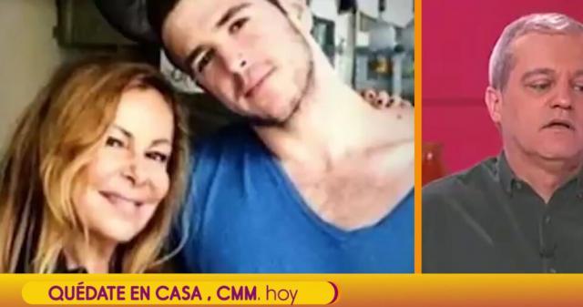 VÍDEO | Ramón García rompe a llorar al mandar a Ana Obregón un mensaje tras la muerte de su hijo