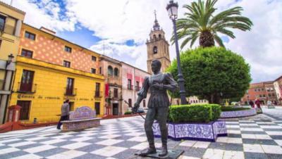 Plaza del Pan, en Talavera de la Reina