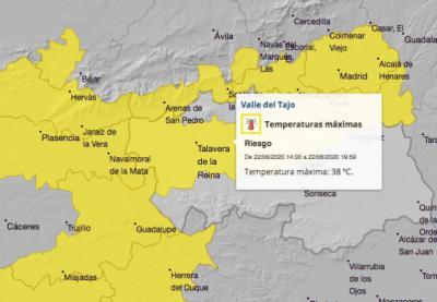 EL TIEMPO | Alerta por altas temperaturas en Talavera y comarca