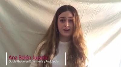 VÍDEO | El mensaje de los alumnos de la primera promoción de Podología en Talavera a los nuevos universitarios