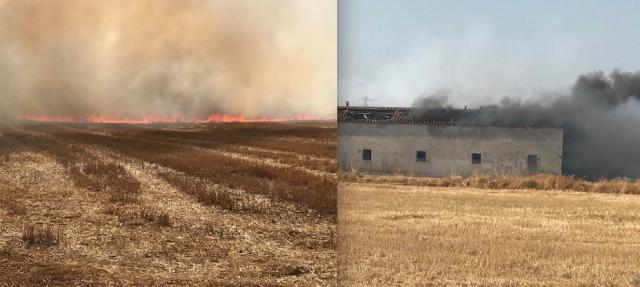 ÚLTIMA HORA | El fuego avanza en Espinosillo