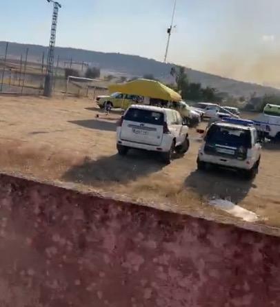 TALAVERA   Controlado el fuego forestal junto a la carretera de San Román