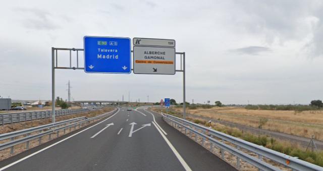 SUCESOS | Sale ardiendo un camión en la autovía A5 cerca de Talavera