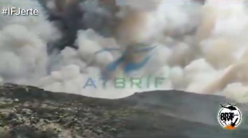 VÍDEO   Se complica el incendio en el Valle del Jerte