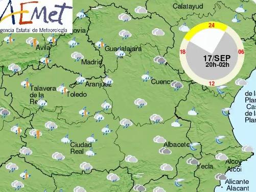 TALAVERA Y COMARCA | En alerta amarilla por lluvias