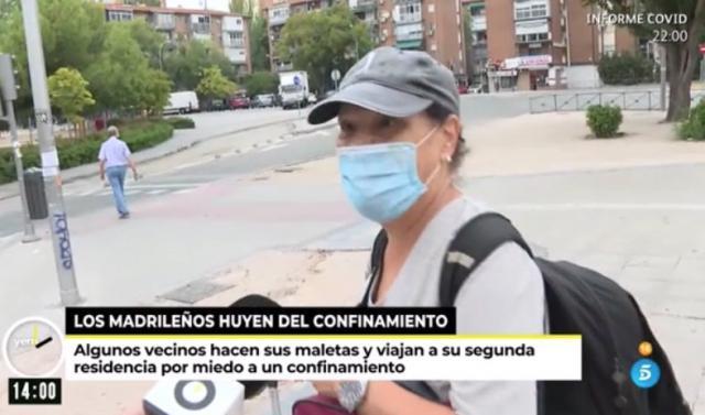 CONFINAMIENTO | Los madrileños empiezan a desplazarse a sus segundas residencias (VÍDEO)
