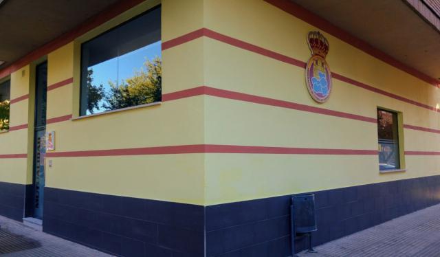 Sede de la Federación sita en la calle Pablo Neruda 10 de Talavera de la Reina.