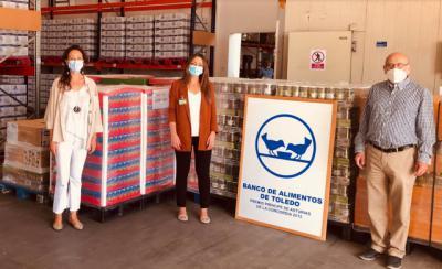 TOLEDO   Mercadona dona 6,5 toneladas de productos de primera necesidad al Banco de Alimentos