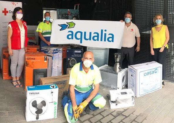TALAVERA | Alianza de Aqualia y Cruz Roja para ayudar a personas en riesgo de exclusión