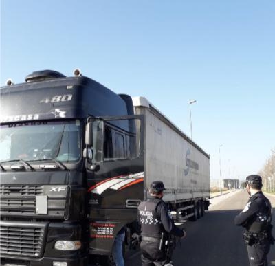 TALAVERA | La Policía Local denuncia a 6 conductores, uno de ellos no tenía carnet