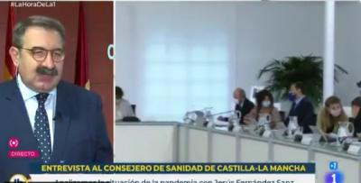 REGIÓN | Fernández Sánz: 'El confinamiento domiciliario está encima de la mesa, pero hay esperar los resultados de las medidas'