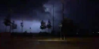 VIDEO | Tormenta eléctrica sobre Talavera: imágenes de los rayos sobre la ciudad