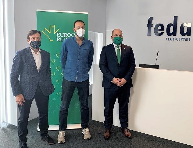 EUROCAJA RURAL   Colabora en la jornada de FEDA sobre alimentación saludable para favorecer la economía local