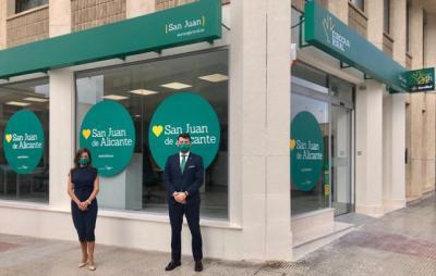 EUROCAJA RURAL | Prosigue su expansión en la Comunidad Valenciana y abre oficina en San Juan de Alicante