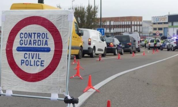 Control Guardia Civil | Archivo