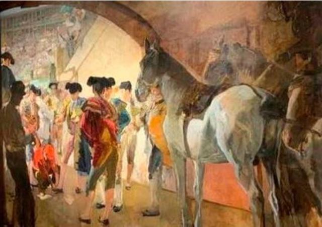 El cuadro 'Antes de la corrida', de Joaquín Sorolla