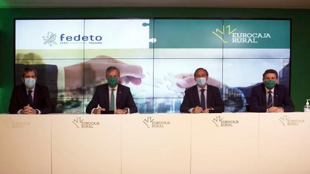 TOLEDO | Eurocaja Rural y FEDETO, unidos contra el impacto económico del Covid-19