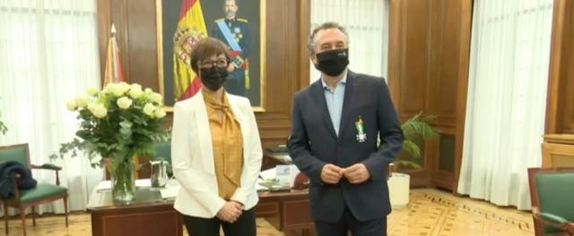 TALENTO TALAVERANO | Roberto Brasero, Medalla de la Orden de Mérito de la Guardia Civil