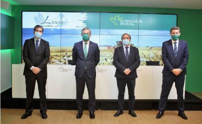 EUROCAJA RURAL | Reafirma su respaldo a la Lonja Agropecuaria de Toledo