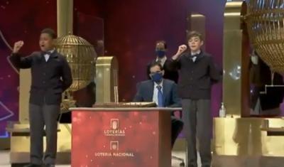 VÍDEO   Así han cantado 'El Gordo' de la Lotería Navidad