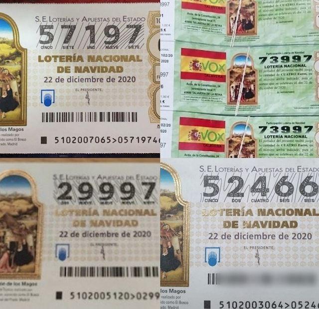 LOTERÍA DE NAVIDAD | El Sorteo deja miles de euros en Talavera y comarca