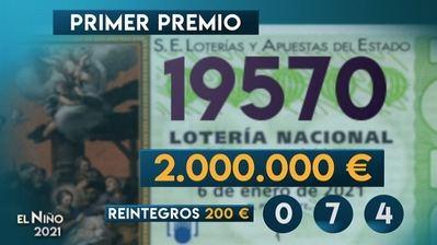 19.570 | Primer premio de la Lotería del Niño